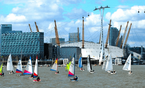 Inland dinghy sailing