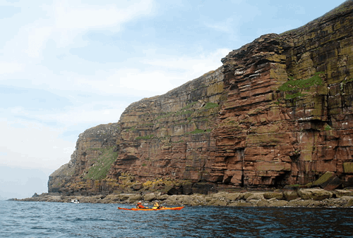 Kayaking north west